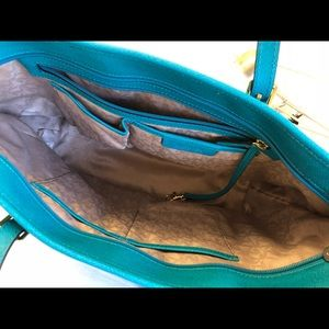 Michael Kors Bags - Michael Kors turquoise tote